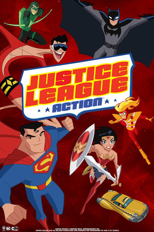 """Justice League Action"" Episode Review – S01E09 ""Time Share"""