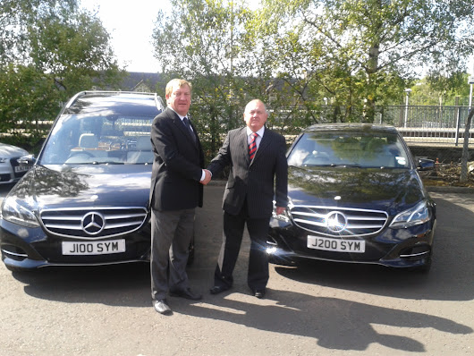 Coleman Milne Deliver Fleet of Ceremonial Vehicles to S Sim & Son Funeral Directors | Coleman Milne