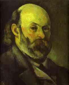 Paul Cézanne Retrato