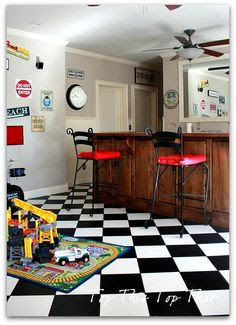 Ideas for my garage/party room! on Pinterest