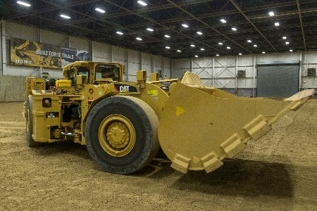 Caterpillar develops proof-of-concept battery electric LHD