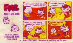 Pal & Friends comic