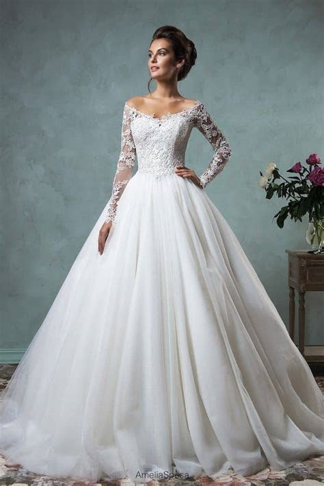 wedding dresses with sleeves best photos   Cute Wedding Ideas