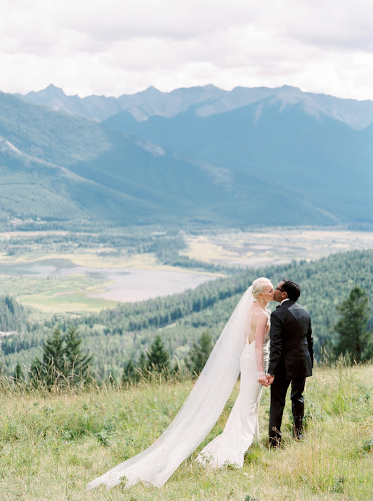 Intimate Fairmont Banff Springs Hotel Wedding