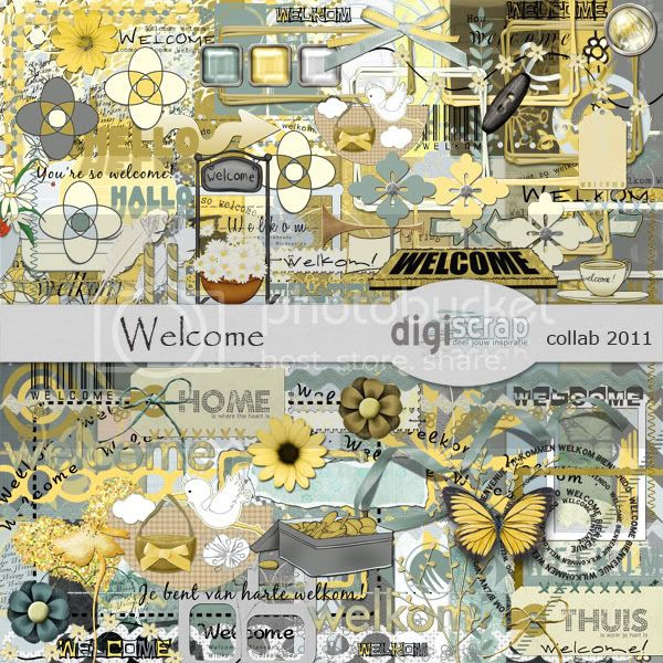 Collab Digiscrap Welcome