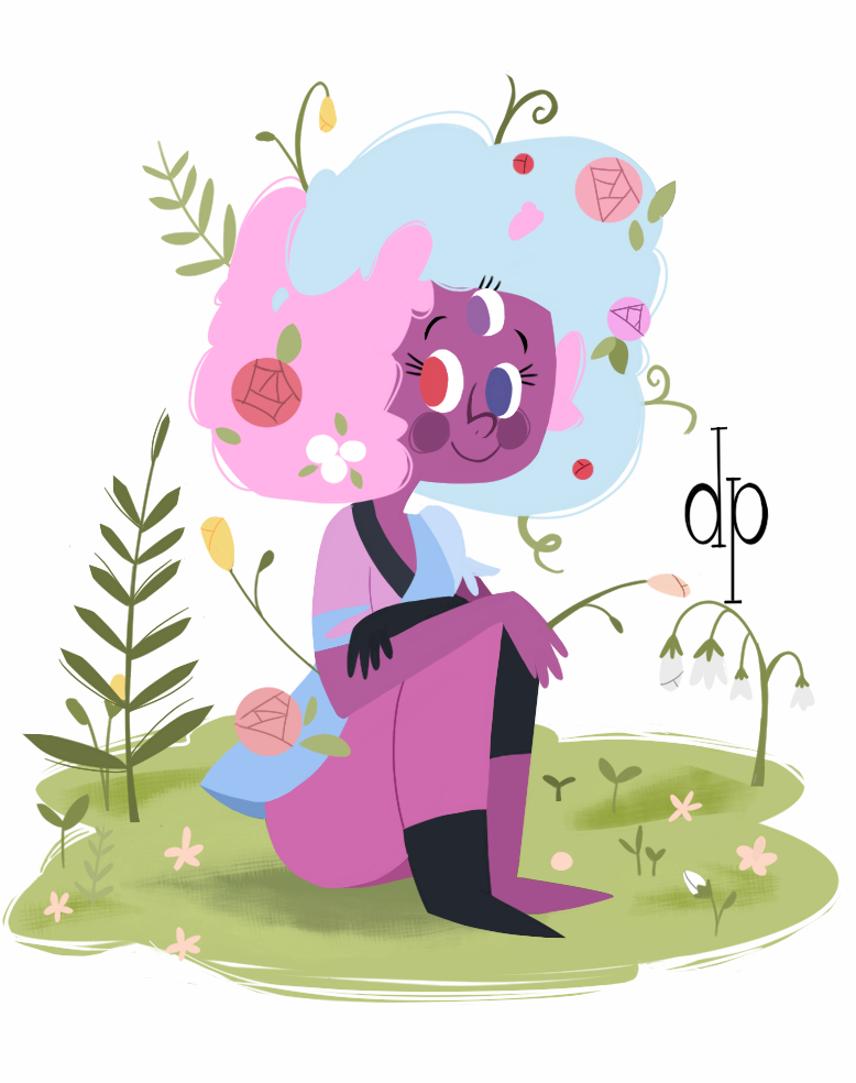 Cotton candy Garnet!!!