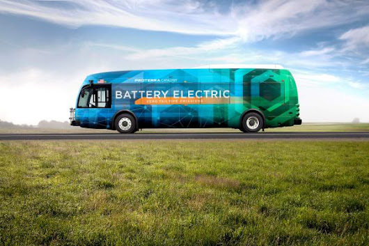 Daimler pours millions into electric bus company Proterra