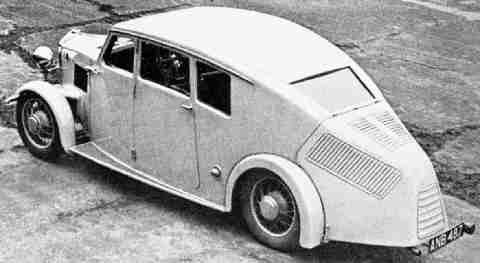 R-100 Burney Car rear1