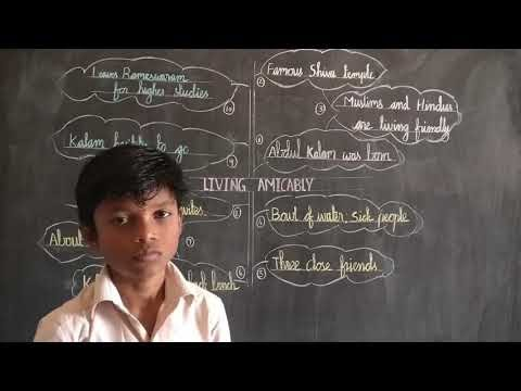 8th Std English Living Amicably Video