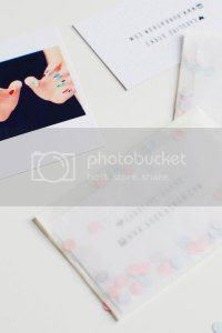 diy handmade business cards, instagram pictures