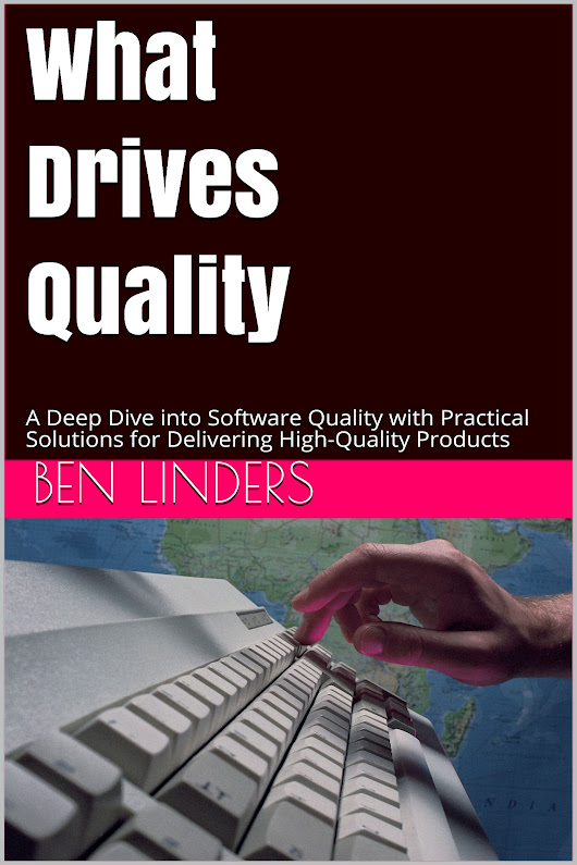 What Drives Quality available for pre-order - Ben Linders
