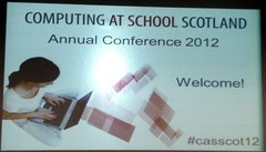 Computing At School Scotland Conference by DavidDMuir