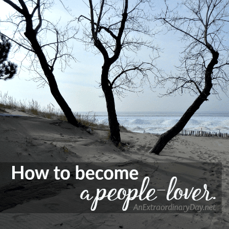 How to become a people-lover. | JoyDay!