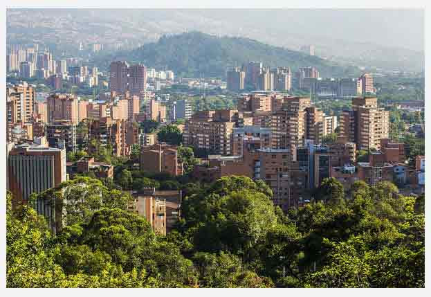 "Medellin, as a major city of ""The Republic of Colombia""."