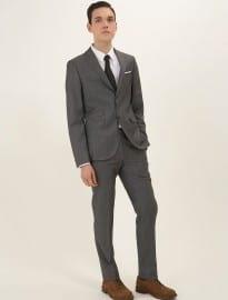 Topman Best Grey Charlie Skinny Suit