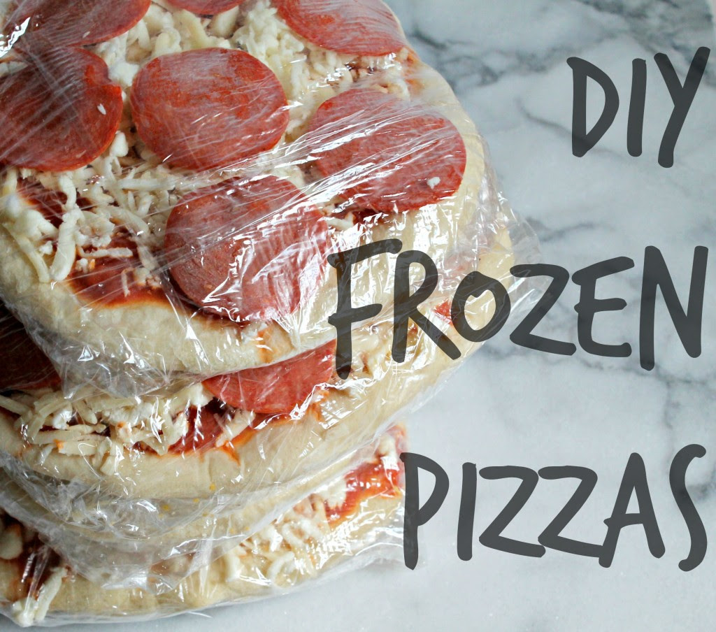 DIY Individual Frozen Pizzas - Cooking with Books