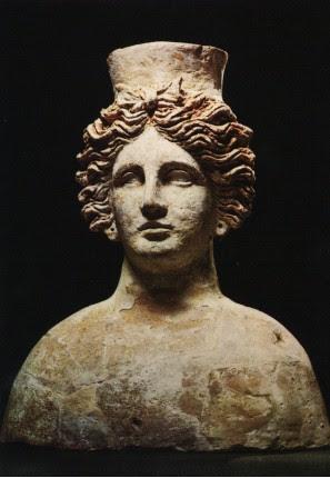 Busto de la Diosa Tanit