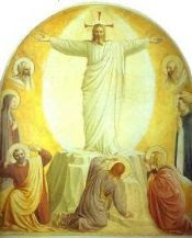 Transfiguration of Christ c.1441. Fresco, 181 x 152. Museo di San Marco, Cell 6, Florence, Italy