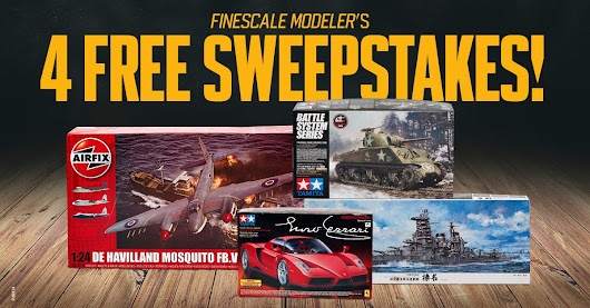 Win 4 Free Model Kits from FineScale Modeler magazine!