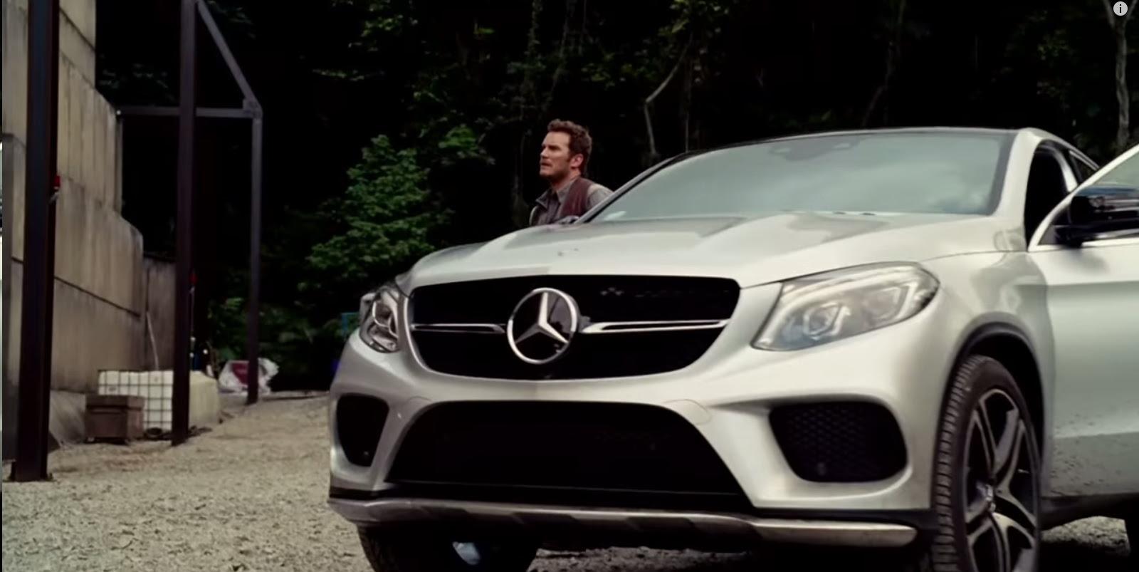 Mercedes-Benz GLE 450 AMG Coupé - Jurassic World (2015) Movie