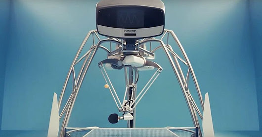 Ping Pong death robot will teach you to serve (its dystopian needs)