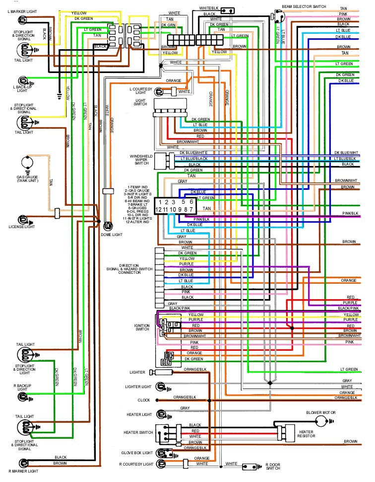 68 Gto Wiring Diagram Light - Wiring Diagram Networks
