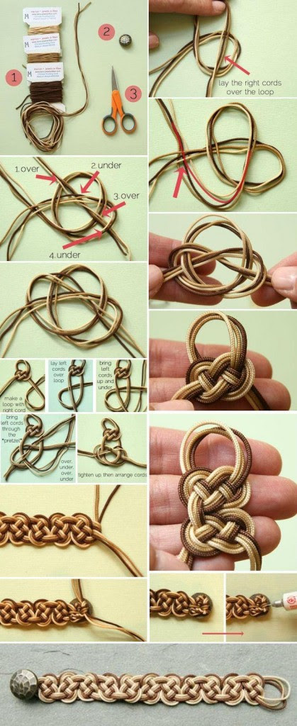 10 Creative DIY Bracelet Tutorials
