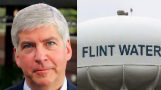 Rick Snyder: Stop Making Flint Residents Pay for Poisoned Water!