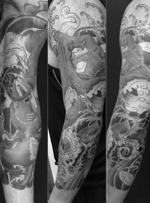 50 Japanese Octopus Tattoo Designs For Men Tentacle Ink Ideas