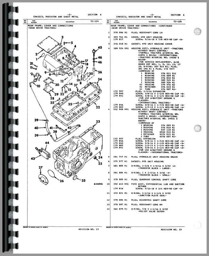 International Harvester Wiring Schematic