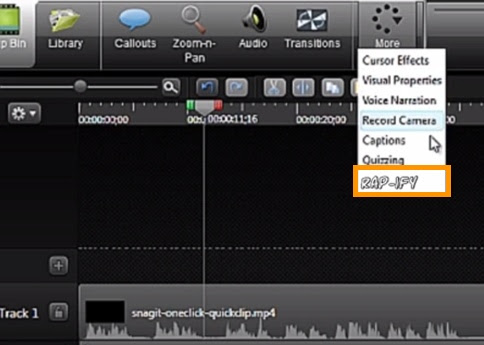 From flat to phat: New Camtasia feature drops the needle on screencasts