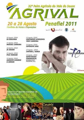 Cartaz Agrival 2011