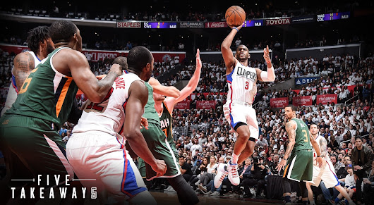 Five Takeaways: Clippers Fall Short in Narrow 96-92 Loss to the Jazz in Game 5 | LA Clippers