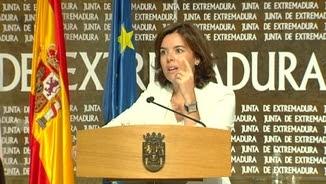 Soraya Sáenz de Santamaría, de visita a Extremadura