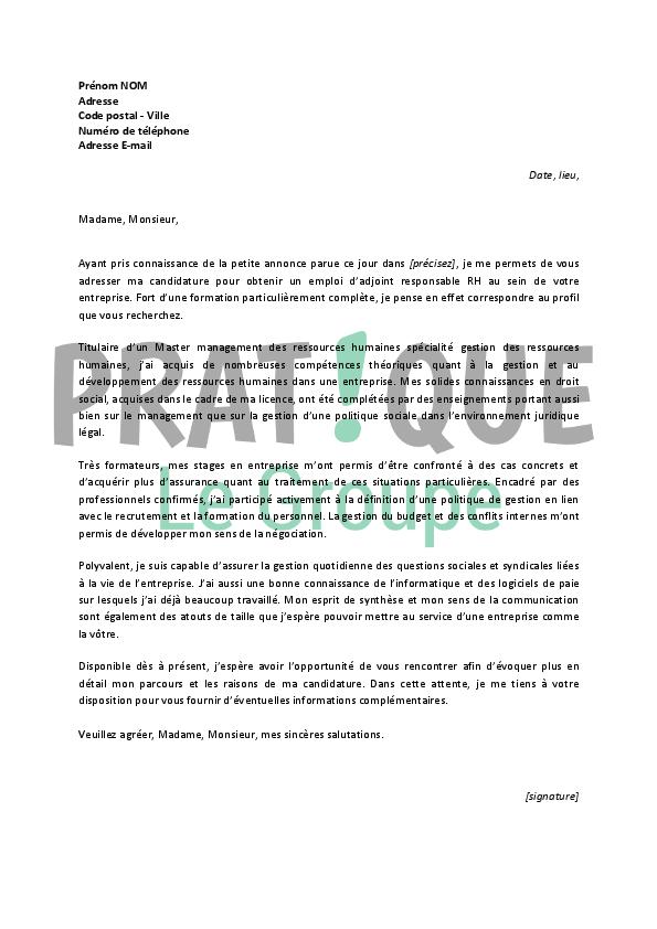 Lettre De Motivation Travailleur Handicapé Mairie - My ...