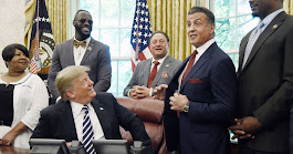 What Was Sylvester Stallone Doing at the White House?