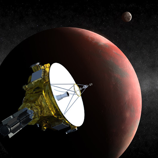 NASA's New Horizons spacecraft is awake and cruising toward Pluto
