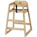 Royal Industries Youth Chair, Hard Wood, Natural Finish