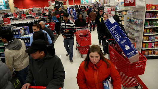 Is the Black Friday frenzy fading -- or being stretched?