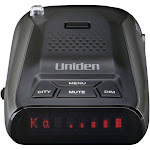 Uniden - DFR5 Radar Detector with Voice Alert