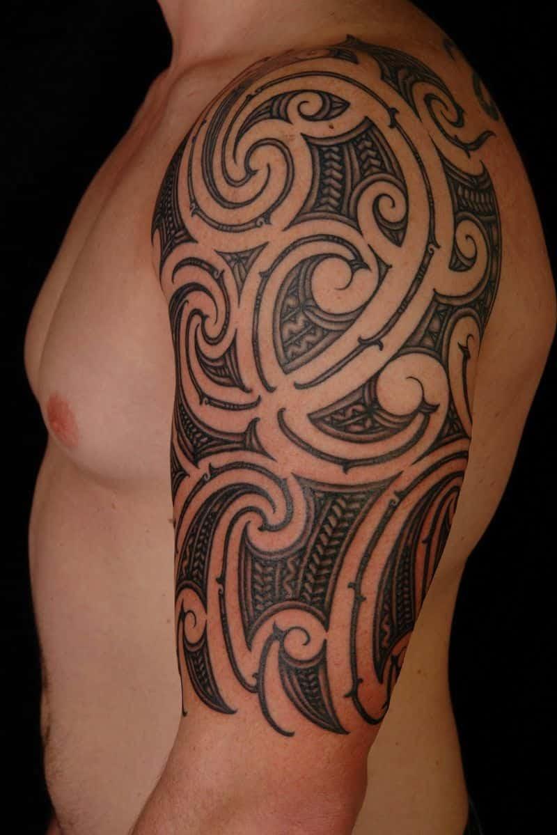 Tribal Half Sleeve Tattoo Designs Tattoo Bytes