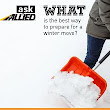 Ask Allied What's the Best Way to Prepare for a Winter Move?