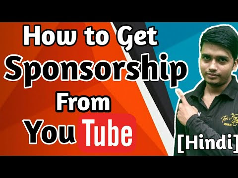How to Get Sponsored On Youtube in Hindi | Facebook | Instagram | Twitter