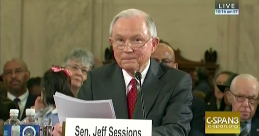 Sessions signals he'd abandon Obama reforms on sentencing, police oversight
