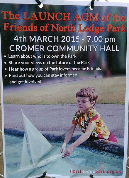 Launch AGM – Friends of North Lodge Park Cromer