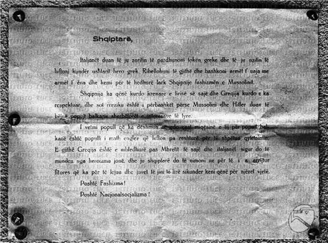 Foto të rralla / Grekët në 1940: Shqiptarë, bashkohuni me ne