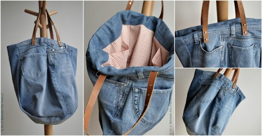 DIY Jean Bag Tutorial | How To Instructions
