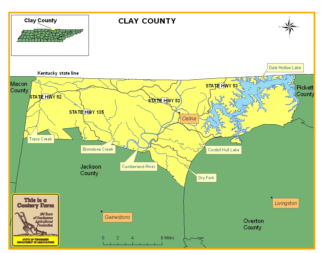 Dry Counties In Tennessee Map - World Map Atlas