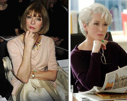 ¿Anna Wintour o Miranda Priestly? #FashionWorld