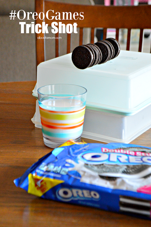 Share Your Trickiest OREO Trick Shot for a Chance to Win BIG! #OreoGames - About A Mom